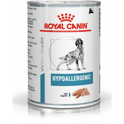 Royal Canin Hypoallergenic при пищевой аллергии