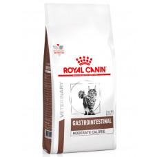 Royal Canin Gastro Intestinal Moderate Calorie для кішок при порушенні травлення зі зниженим вмістом калорій