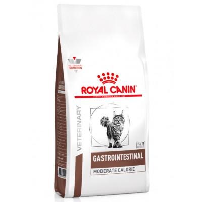 Royal Canin Gastro Intestinal Moderate Calorie для кошек при нарушении пищеварения с пониженным содержанием калорий