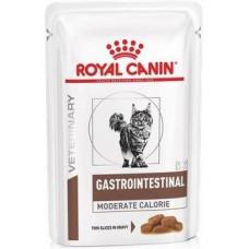 Royal Canin GASTRO INTESTINAL MODERATE CALORIE для кішок при порушеннях травлення зі зниженим вмістом калорій