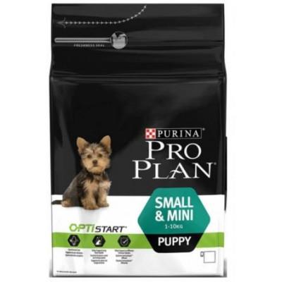 купити Pro Plan Puppy Small and Mini корм для щенков мелких и карликовых пород в Одеси