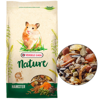 купити Versele-Laga Nature Hamster Версель-Лага НАТЮР ХАМСТЕР суперпреміум корм для хом'яків, 0,7 кг в Одеси