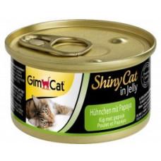 Gim Shiny Cat курица с папайей, 70 гр