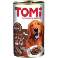 TOMi 5 kinds of meat 5 ТОМИ ВИДОВ МЯСА консервы для собак