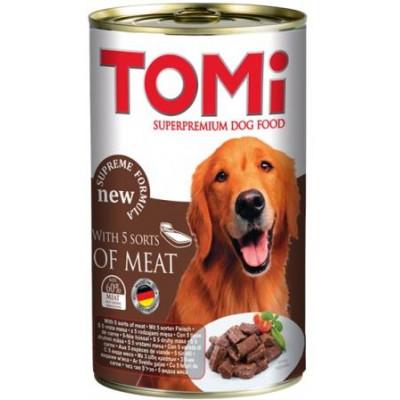 купити TOMi 5 kinds of meat 5 ТОМИ ВИДОВ МЯСА консервы для собак в Одеси