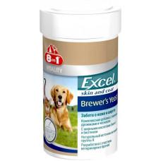 8in1 (8в1) Vitality Excel Brewers Yeast Вітамінна добавка для собак, що підтримує здоров'я шкіри і шерсті