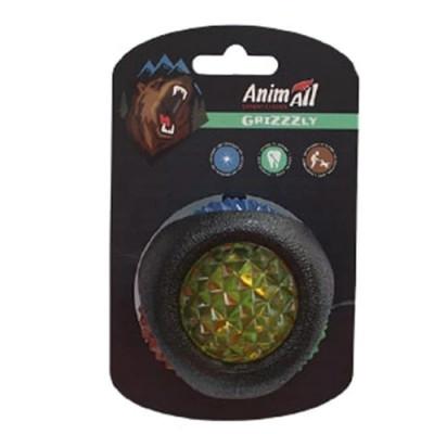 AnimAll (ЕнімАлл) GrizZzly Іграшка сяючий LED-м'яч для собак