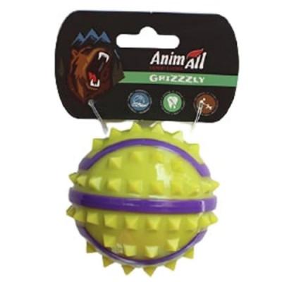 купити AnimAll (ЕнімАлл) GrizZzly Іграшка м'яч з шипами для собак в Одеси