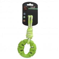 AnimAll (ЕнімАлл) GrizZzly Іграшка кільце з канатом для собак