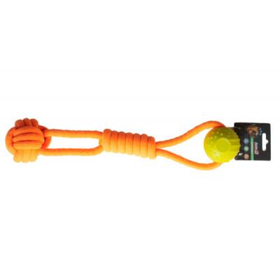 купити AnimAll (ЕнімАлл) GrizZzly Іграшка канат з кулькою для собак в Одеси