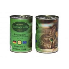 Baskerville (Баскервіль) Оленина з курячим м'ясом для котів