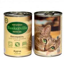 Baskerville (Баскервіль) Курка і рис для котів