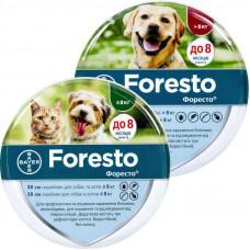 Foresto (Форесто) ошейник для кошек и собак от блох, клещей и комаров