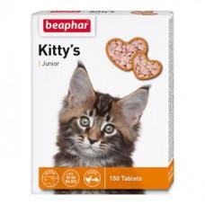 Beaphar (Біфар) Kittys Junior Таблетки вітамінізовані для кошенят з біотином