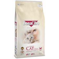 BonaCibo Adult Cat Chiken з м'ясом курки, анчоусами та рисом для дорослих котів всіх порід