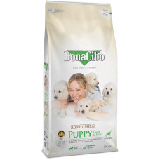 BonaCibo Puppy Lamb&Rice з м'ясом ягняти та рисом для цуценят всіх порід до 12 місяців