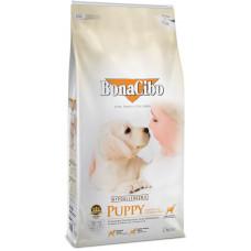 BonaCibo Puppy Chiken з м'ясом курки, анчоусами та рисом для цуценят всіх порід, віком до 12 місяців