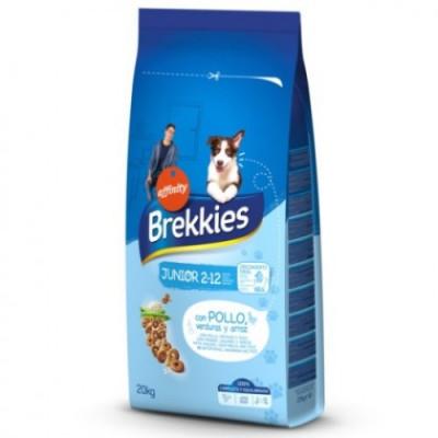 Brekkies Excel Dog Junior для щенков