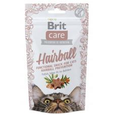 Brit Care Functional Snack Hairball ласощі для профілактики утворення шерстяних грудок 50 г