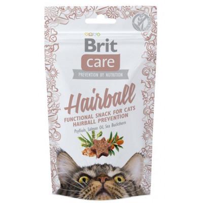 купити Brit Care Functional Snack Hairball ласощі для профілактики утворення шерстяних грудок 50 г в Одеси