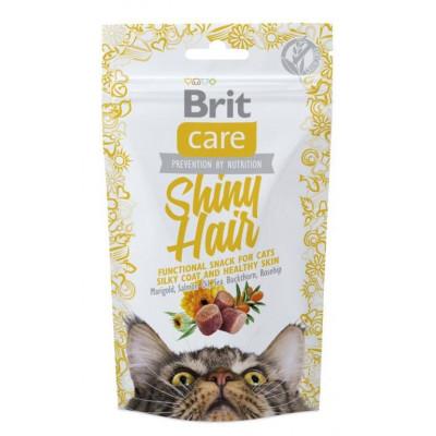 купити Brit Care Functional Snack Shiny Hair Ласощі для здорової шкіри і шовковистої шерсті 50 г в Одеси