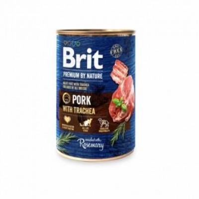купити Brit Premium by Nature свинина зі свинячої трахеєю в Одеси