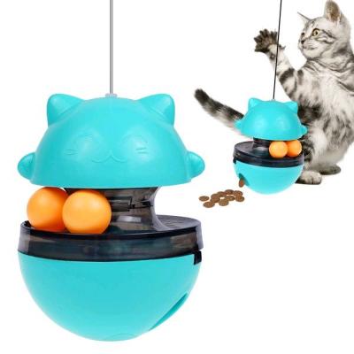 Bronzedog (Бронздог) Petfun Трек з м'ячиками і контейнером для корму іграшка для котів