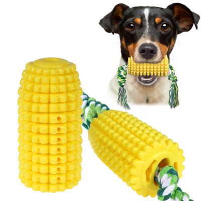купити Bronzedog PetFun Dental Кукуруза с канатом игрушка для собак в Одеси