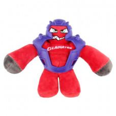 BronzeDog (Бронздог) Gladiator Іграшка для Собак в Гумової Броні з пищалки Червоний 20 см