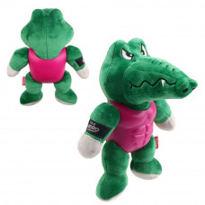 BronzeDog (Бронздог) I'm Hero Іграшка для Собак Крокодил з Гумовим Тілом і Пискавкою 20 см