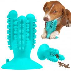 Bronzedog PetFun Dental Кактус з присоскою іграшка для собак, 12,5 х 9,5 см