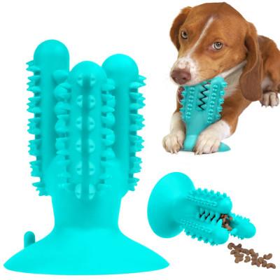 купити Bronzedog PetFun Dental Кактус з присоскою іграшка для собак, 12,5 х 9,5 см в Одеси