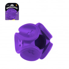 BronzeDog Jumble Скручений М'яч 8 см іграшка для собак