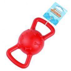 BronzeDog (Бронздог) FLOAT Плаваюча Іграшка для собак Силовий м'яч 19 х 9 см