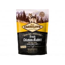 Carnilove Fresh Chicken & Rabbit for Adult dogs для дорослих собак з куркою і кроликом