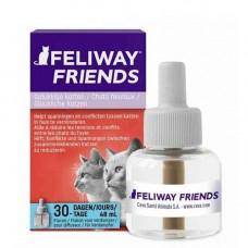 Ceva (Сева) Feliway Friends (змінний блок) засіб для зняття стресу і корекції поведінки у кішок, 48 мл