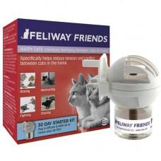 Ceva (Сева) Feliway Friends (дифузор + змінний блок) засіб для зняття стресу і корекції поведінки у кішок, 48 мл
