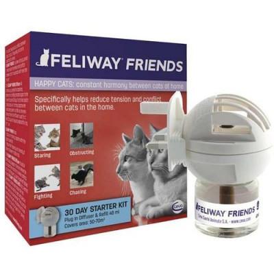 купити Ceva (Сева) Feliway Friends (дифузор + змінний блок) засіб для зняття стресу і корекції поведінки у кішок, 48 мл в Одеси