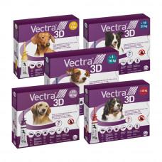 Ceva VECTRA 3D (ВЕКТРА 3D) Краплі від бліх, вошей, комарів та кліщів для собак, 1 піпетка
