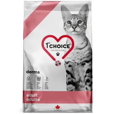 купити 1st Choice Adult Derma ФЕСТ ЧОЙС дерми дієтичний корм для котів в Одеси