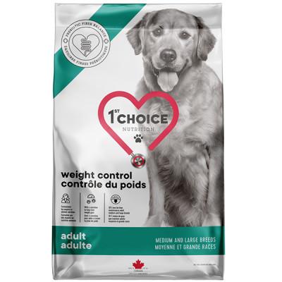 купити 1st Choice Adult Weight Control Medium and Large КОНТРОЛЬ ВАГИ дієтичний корм для собак середніх і великих порід в Одеси
