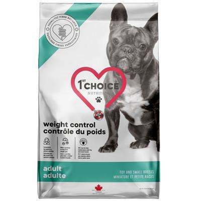 купити 1st Choice Adult Weight Control Toy and Small МІНІ КОНТРОЛЬ ВАГИ дієтичний корм для собак міні і малих порід в Одеси