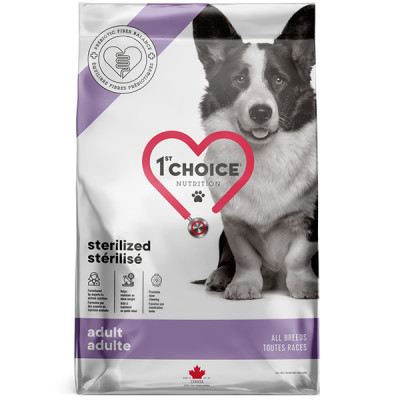 купити 1st Choice Adult Sterilized СТЕРІЛАЙЗД дієтичний корм для стерилізованих собак в Одеси