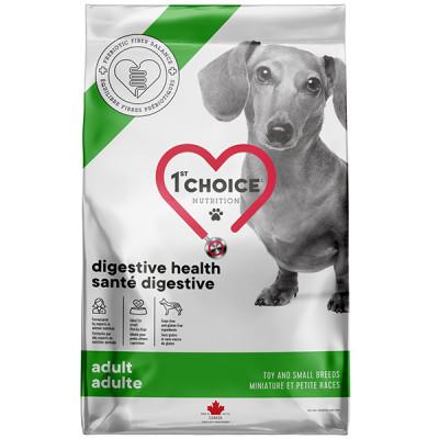 купити 1st Choice Adult Digestive Health Toy and Small МІНІ ГАСТРОІНТЕСТІНАЛ дієтичний корм для собак міні і малих порід в Одеси
