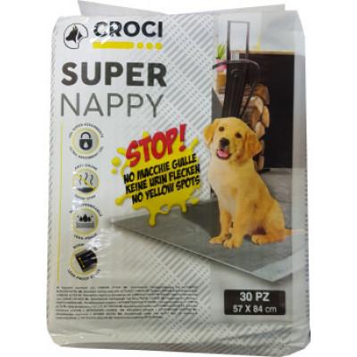 купити Пеленки для собак CROCI Super Nappy Activated Carbon  с актив. углем 57*54 см в Одеси