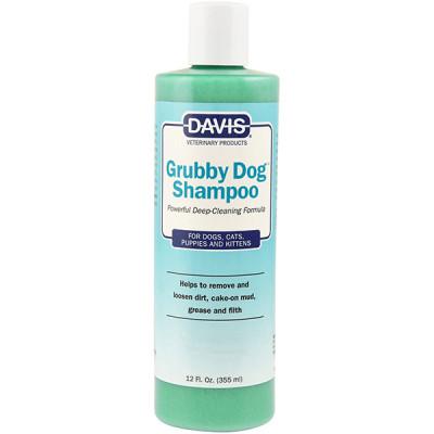 купити Davis Grubby Dog Shampoo ДЕВІС Граббі ДОГ шампунь глибокого очищення для собак, котів, концентрат в Одеси