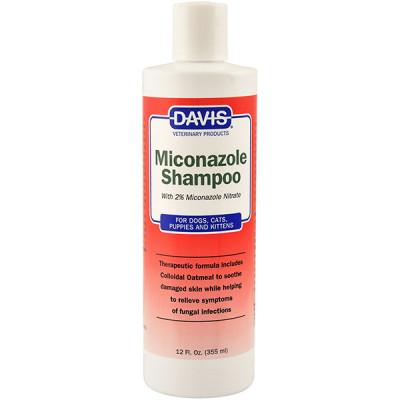 Davis Miconazole Shampoo ДЕВІС Міконазолу шампунь з 2% нітратом миконазола для собак і котів із захворюваннями шкіри