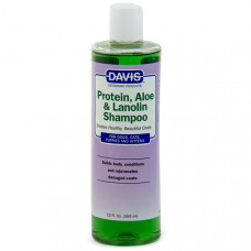 Davis Protein & Aloe & Lanolin Shampoo ДЕВІС ПРОТЕЇН АЛОЕ ЛАНОЛІН шампунь для собак, котів, концентрат