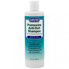 Davis Pramoxine Anti-Itch Shampoo ДЕВІС ПРАМОКСІН шампунь від сверблячки з 1% прамоксіна гідрохлоридом для собак і котів