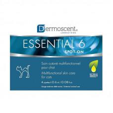 Dermoscent (Дермосцент) Essential-6 spot-on Краплі для догляду за шкірою і шерстю кішок